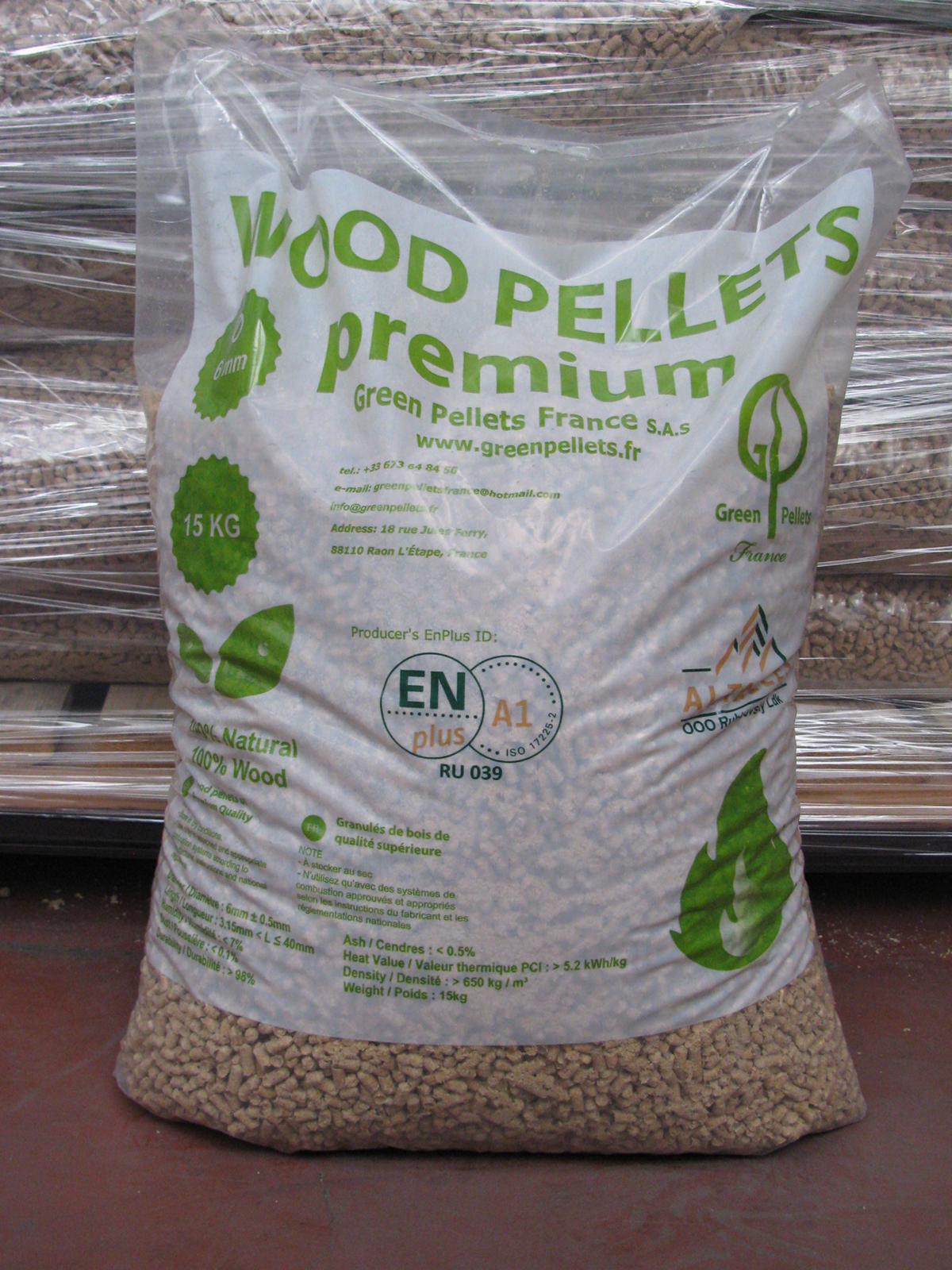 Houtpellets kopen van Green Pellets