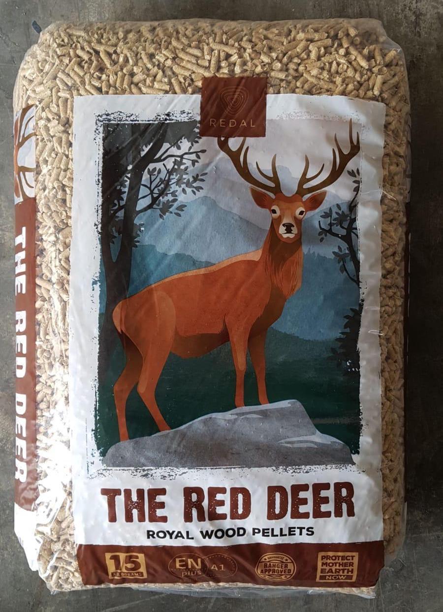 Houtpellets kopen van Red Deer