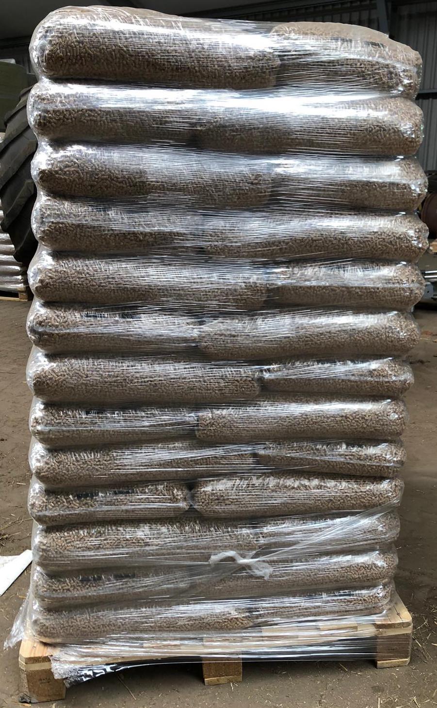 green pellets houtpellets tverskaya pallet met zakken